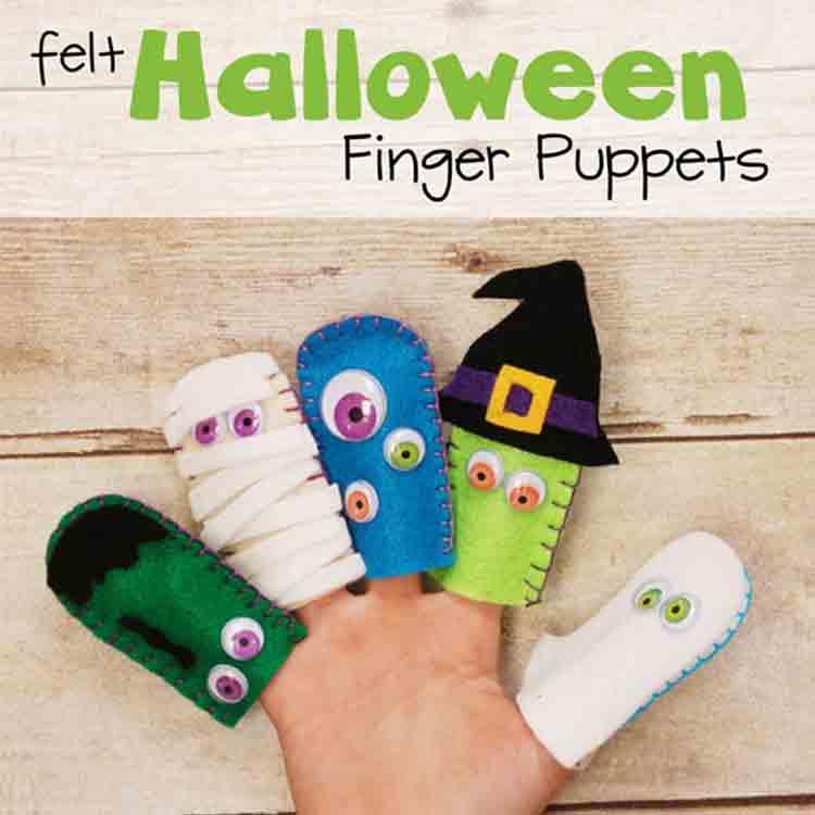 felt halloween decorations 4