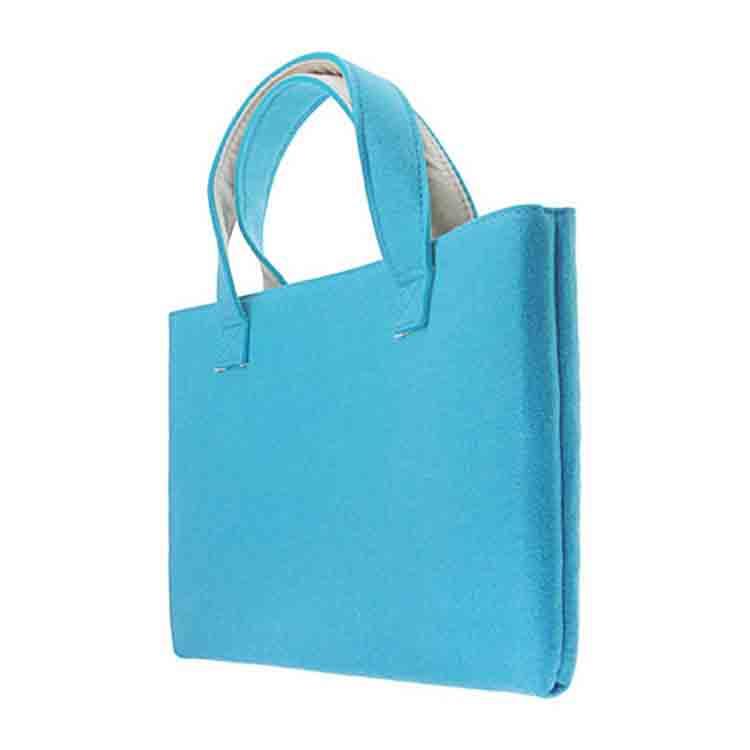 felt handbag