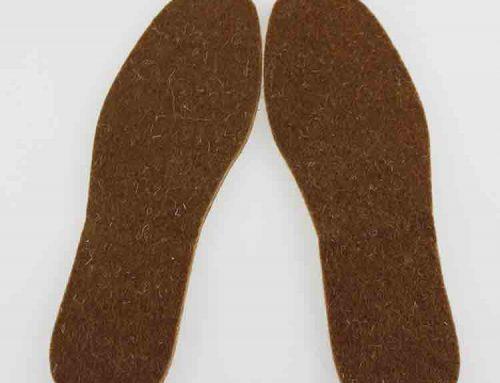 palmilhas de feltro para sapatos