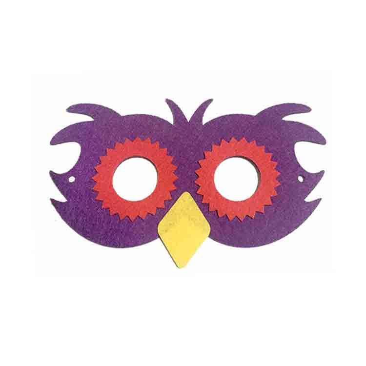 felt owl mask 2