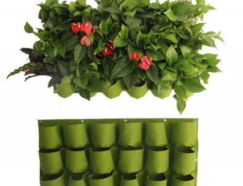 sacos de feltro plantador