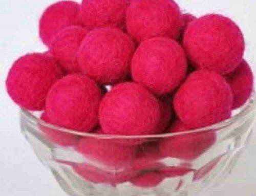 felt pom pom balls