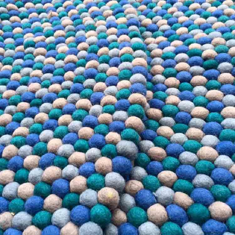 felt rock rug 1