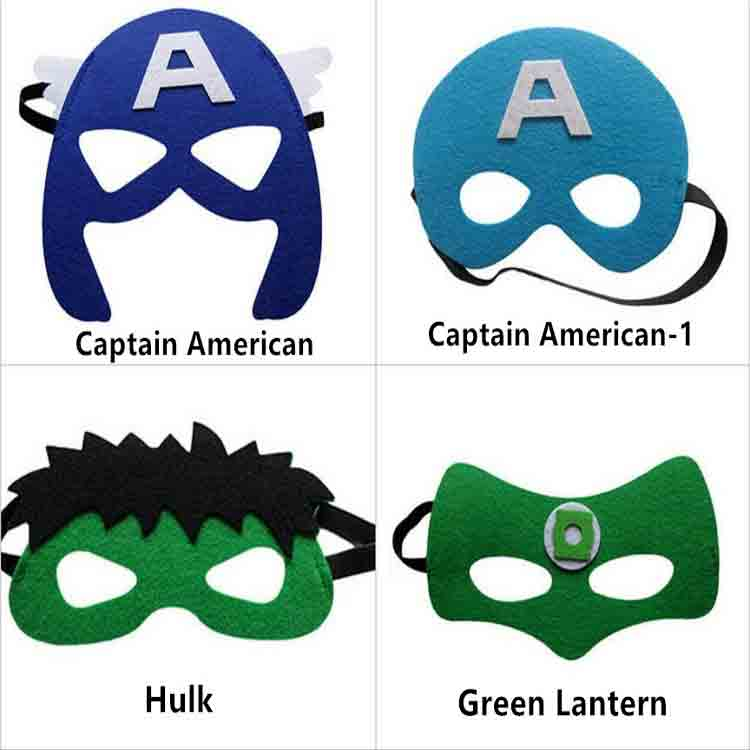 felt superhero mask 1