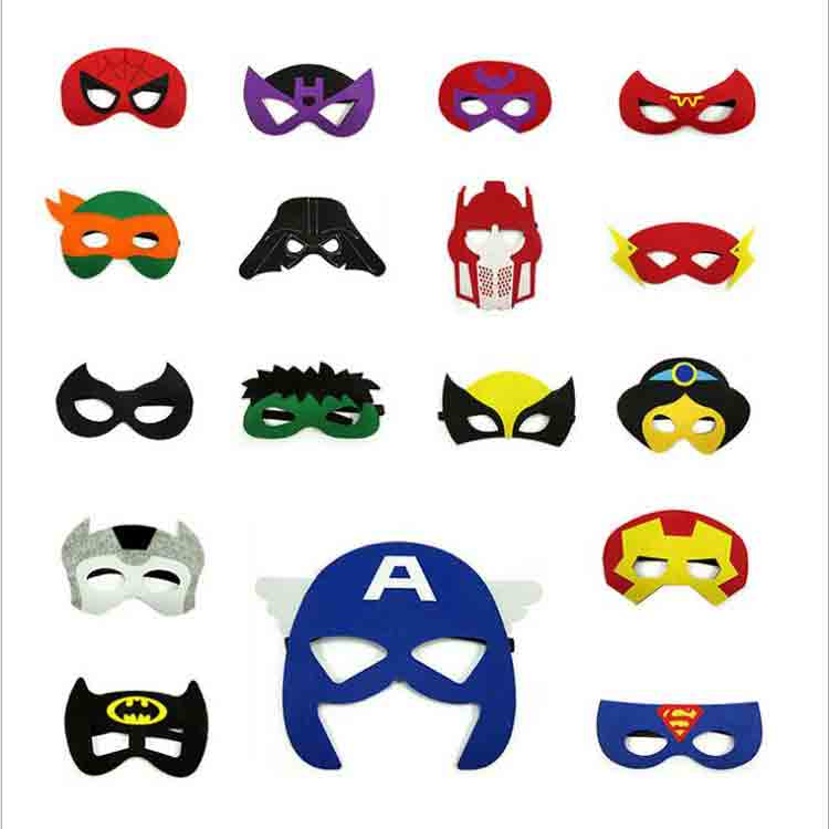 felt superhero mask 5