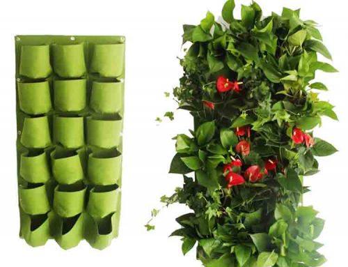 felt wall planter