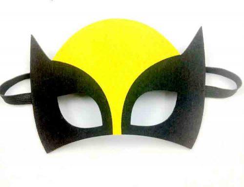 felt wolf mask