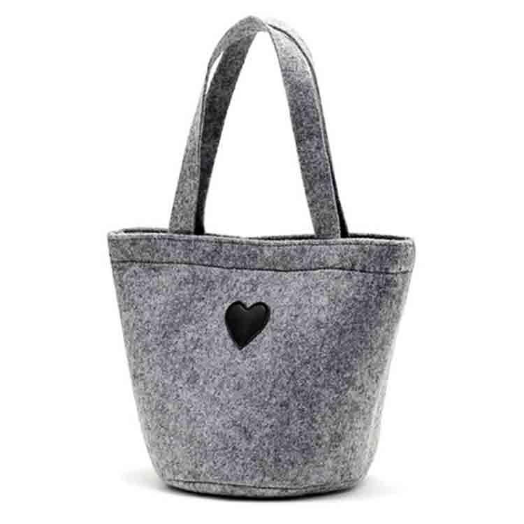 keçeli yün çanta