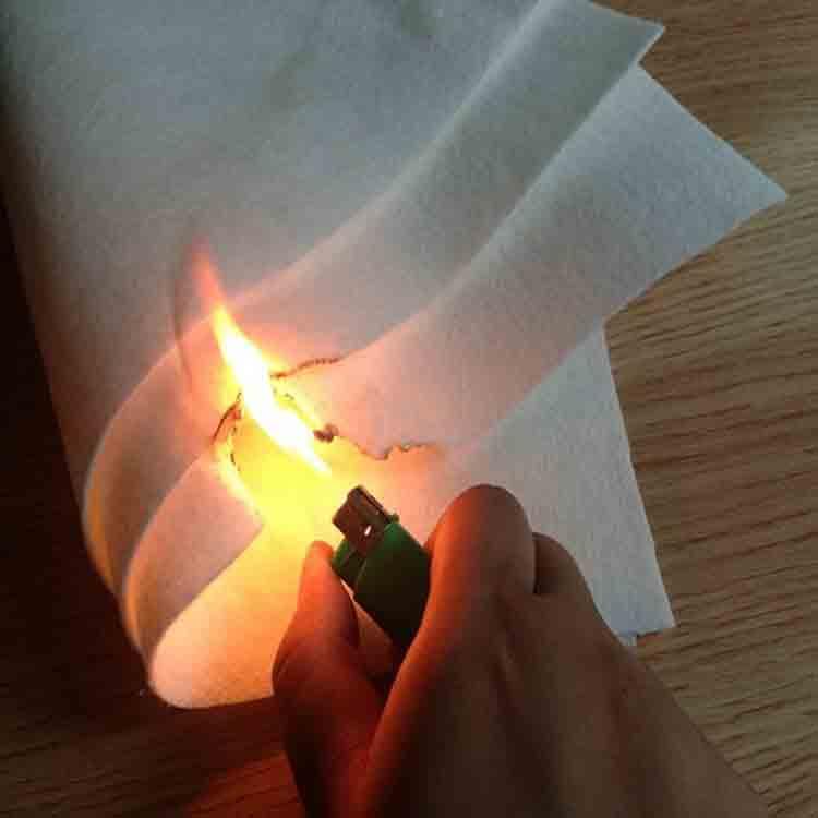 feltro retardador de fogo