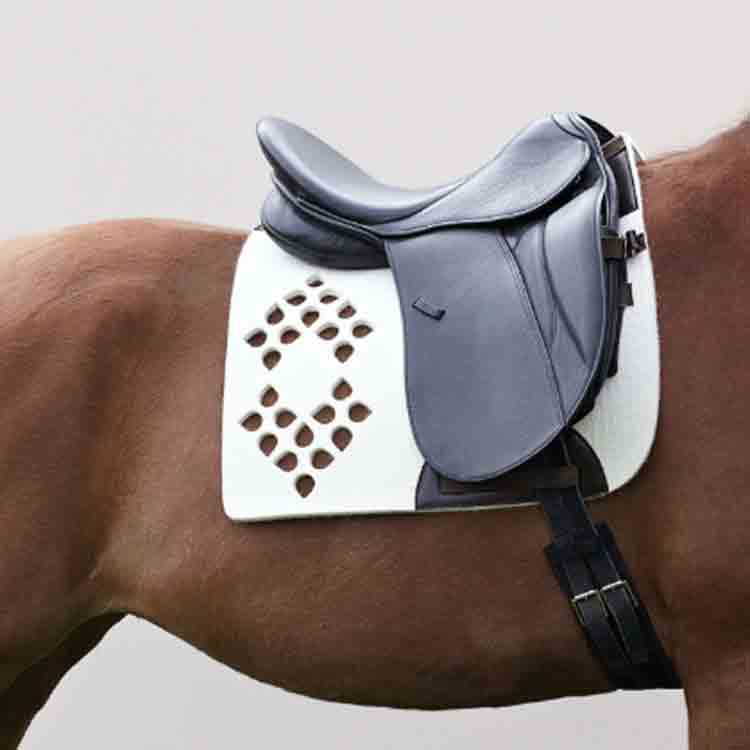 fleece saddle pad