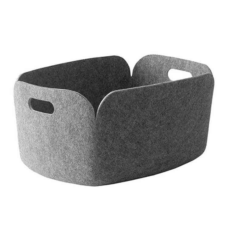 grey felt box