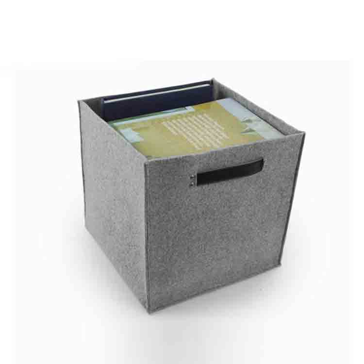 grey felt storage box 3
