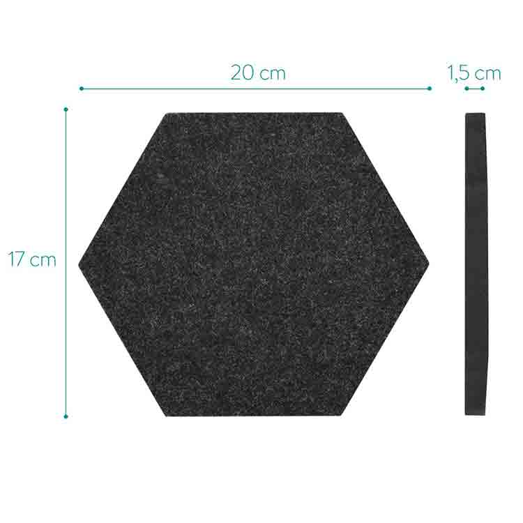 hexagon sound panels 1