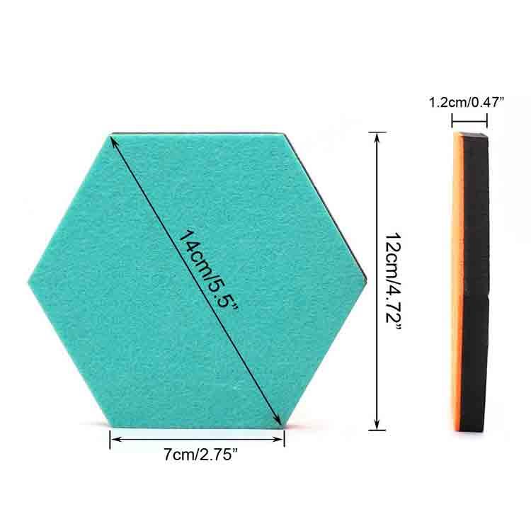 hexagon sound panels 3