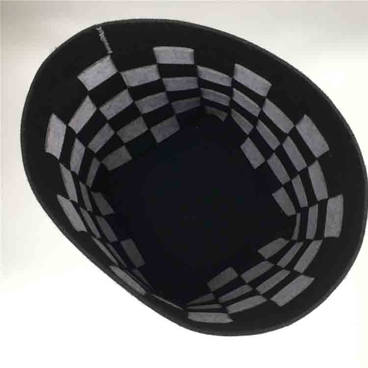 large felt basket 1