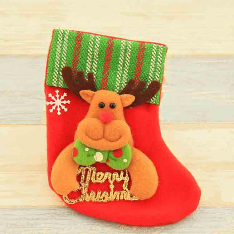red felt stocking 3