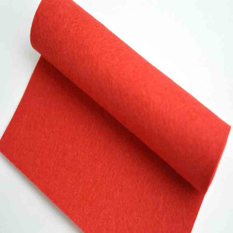 red wool felt 1