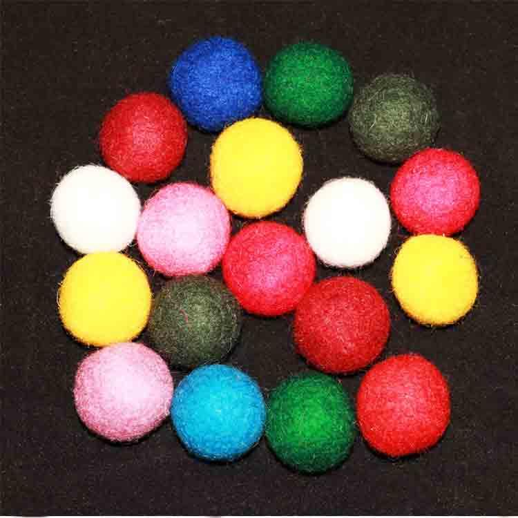 small felt balls 2