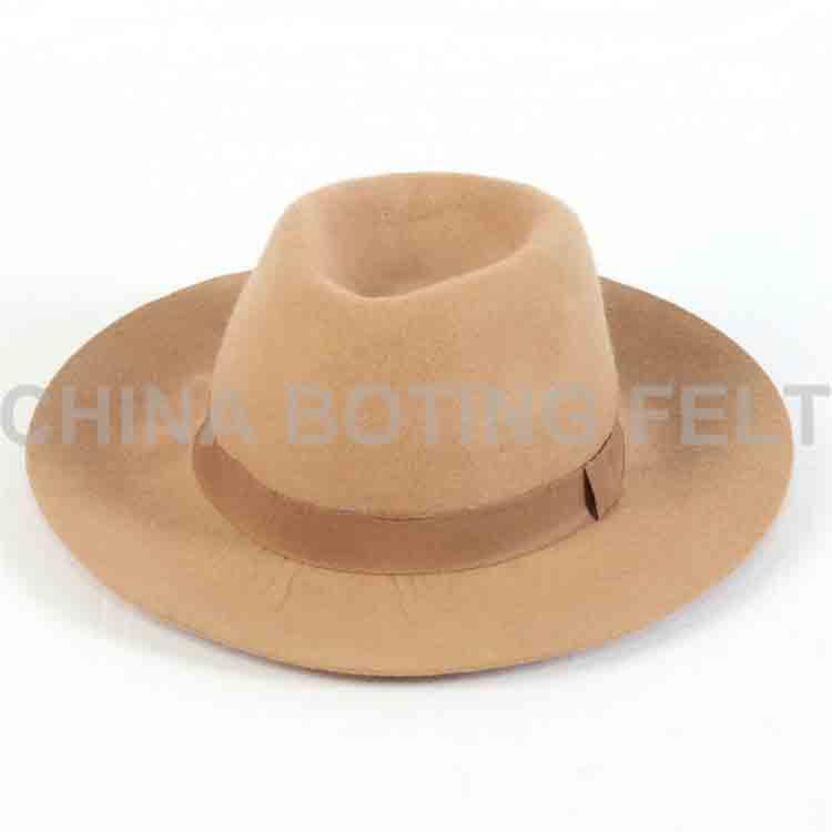 wide brim felt hat 1