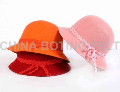 kadın yün şapka keçe
