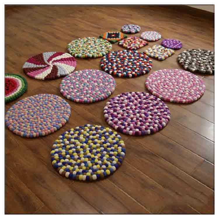 wool ball rug 2