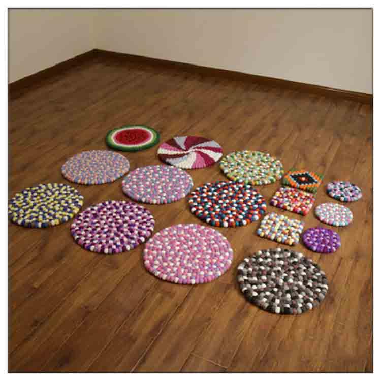 wool ball rug 3