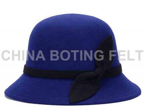 vlnený klobúk