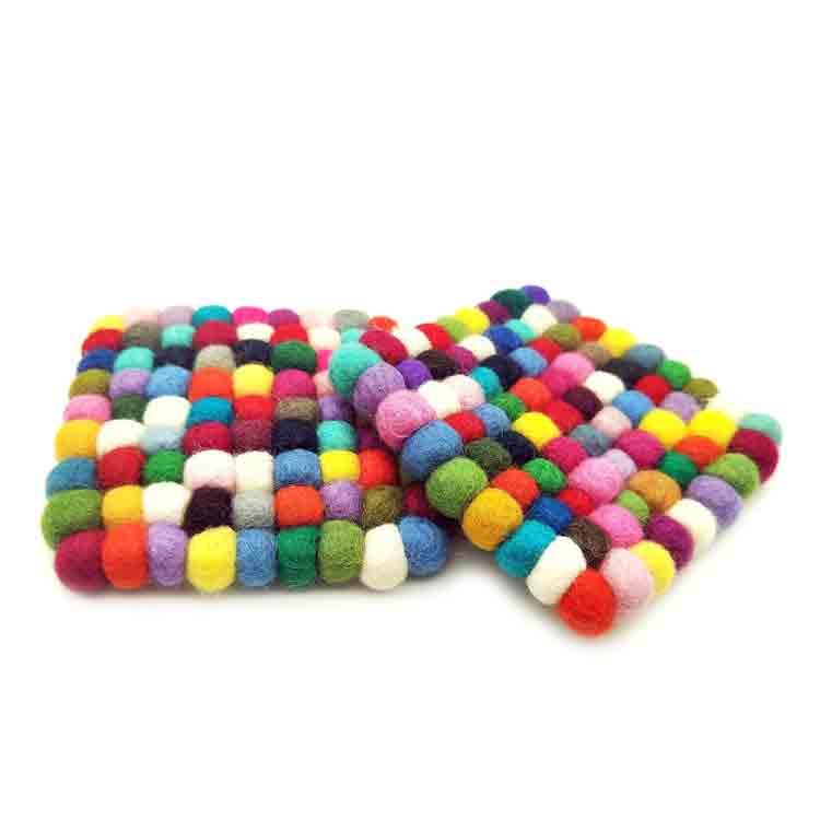 wool coasters 2