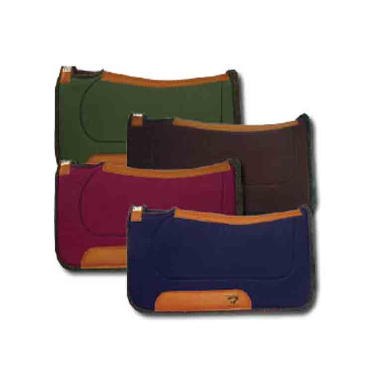 wool felt saddle pad 1