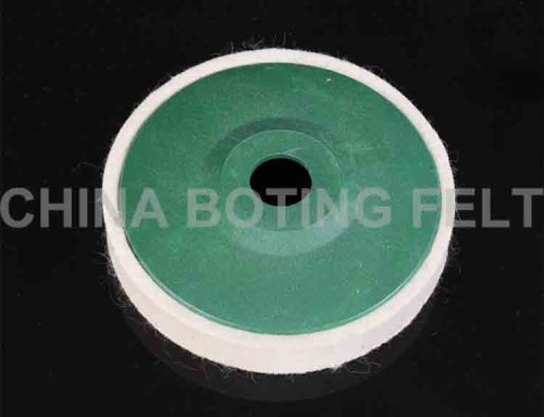 wool polishing wheel