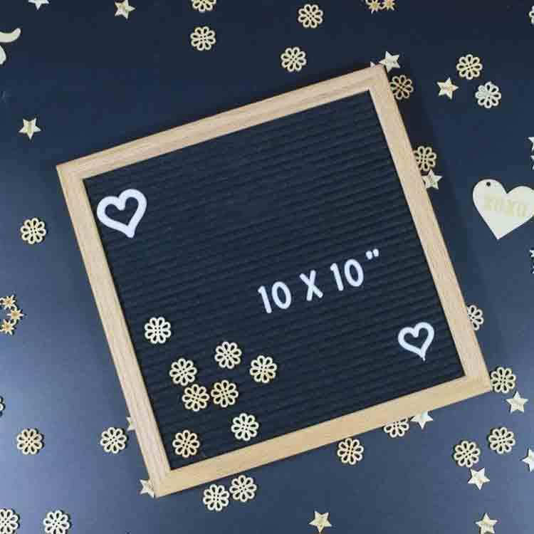 10x10 felt board board