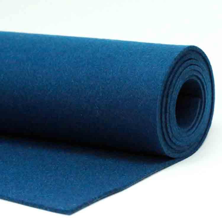 blue felt fabric 4