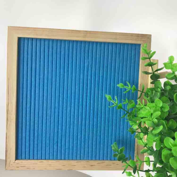 blue felt letter board