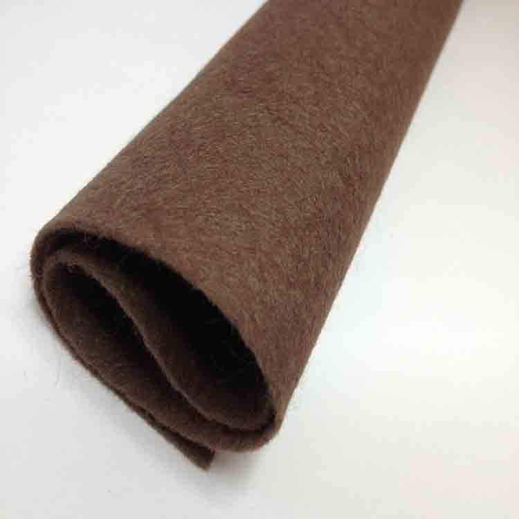 brown felt fabric 1