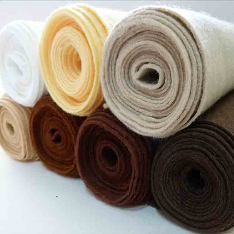 brown felt fabric 4