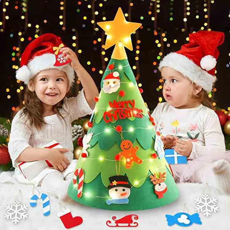 childrens felt christmas tree 2