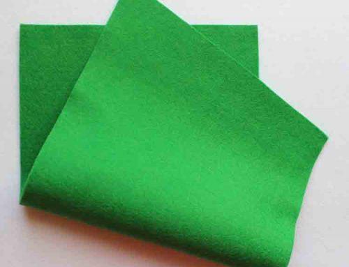 tecido de feltro de natal