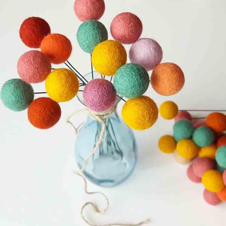 felt balls wholesale 5