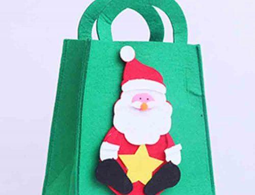 feltro decorações de natal