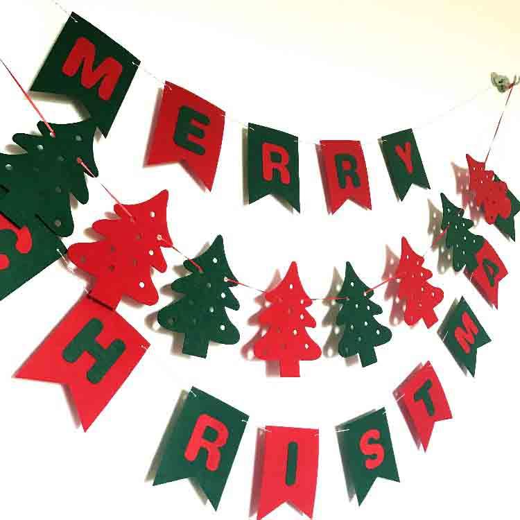 felt christmas garland 2
