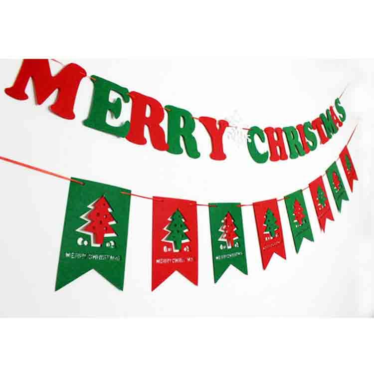 felt christmas garland 4