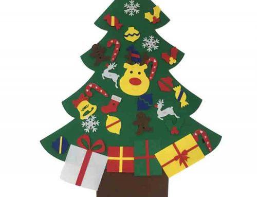 feltro árvore de natal