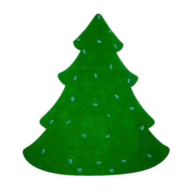 felt christmas tree 3