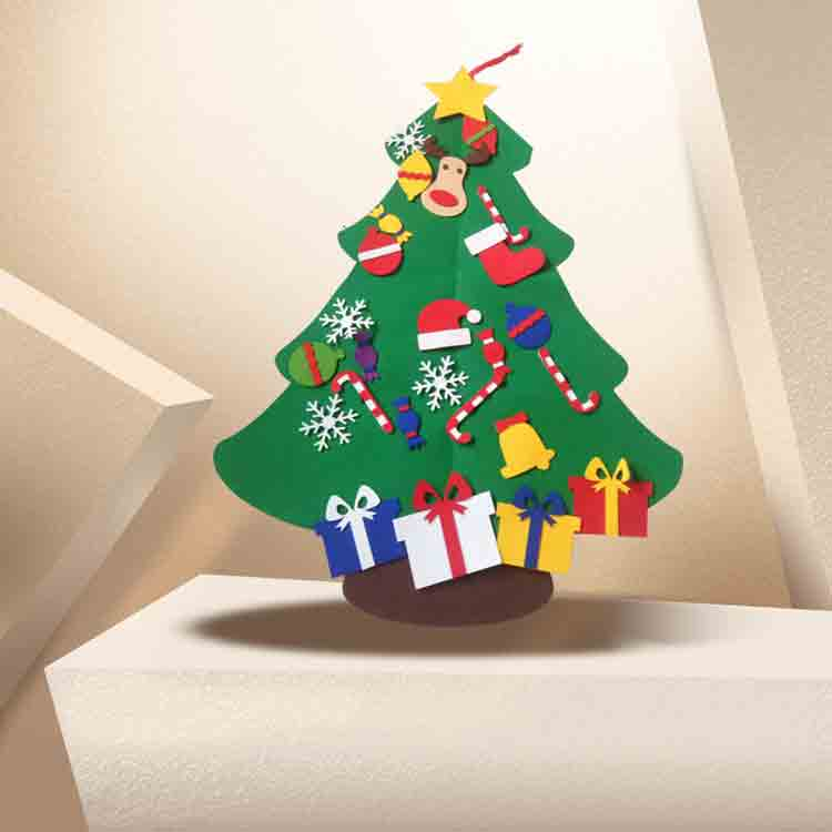 felt tree decorations 5