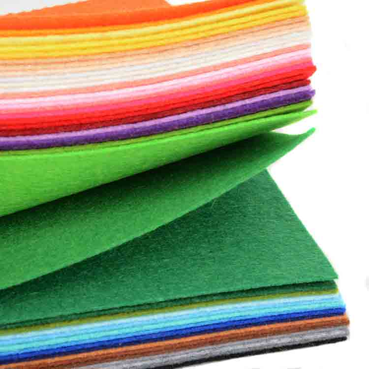 green felt fabric 1