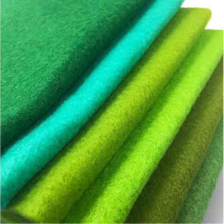 green felt fabric 2