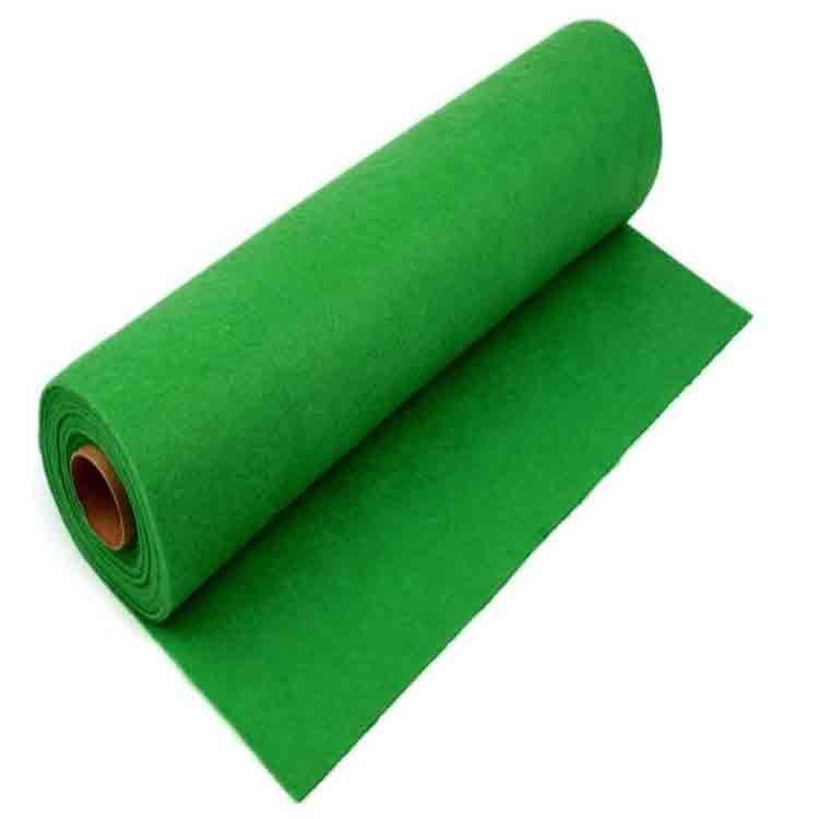 green felt roll 1