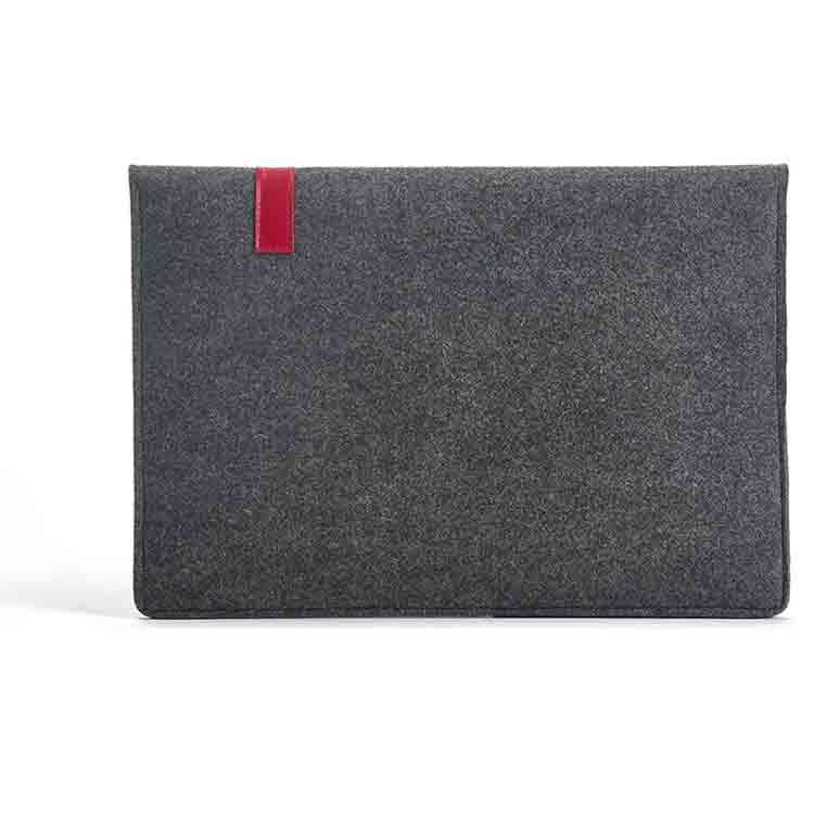 grey felt bag 1