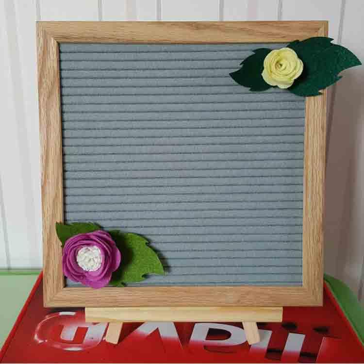 grey felt letter board 3