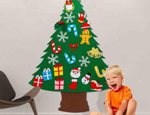 çocuklar noel ağacı